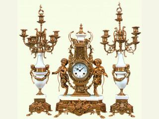 С 1 по 15 мая 2020  скидка 45% на самые большие бронзовые часы.